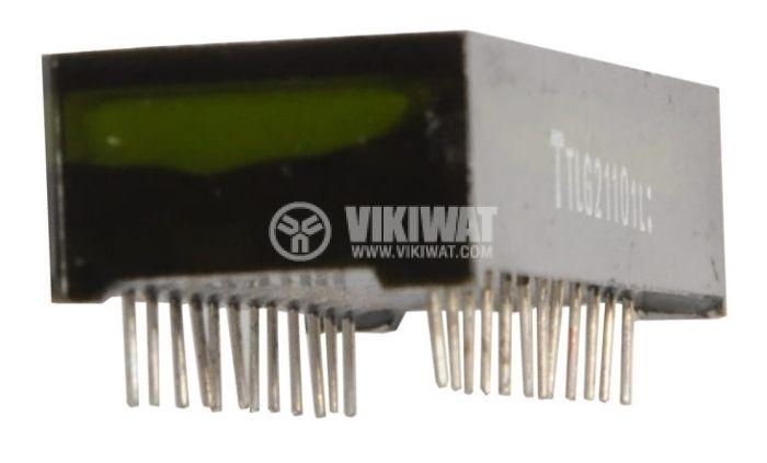 LED дисплей четворен зелен TLG2110 - 2