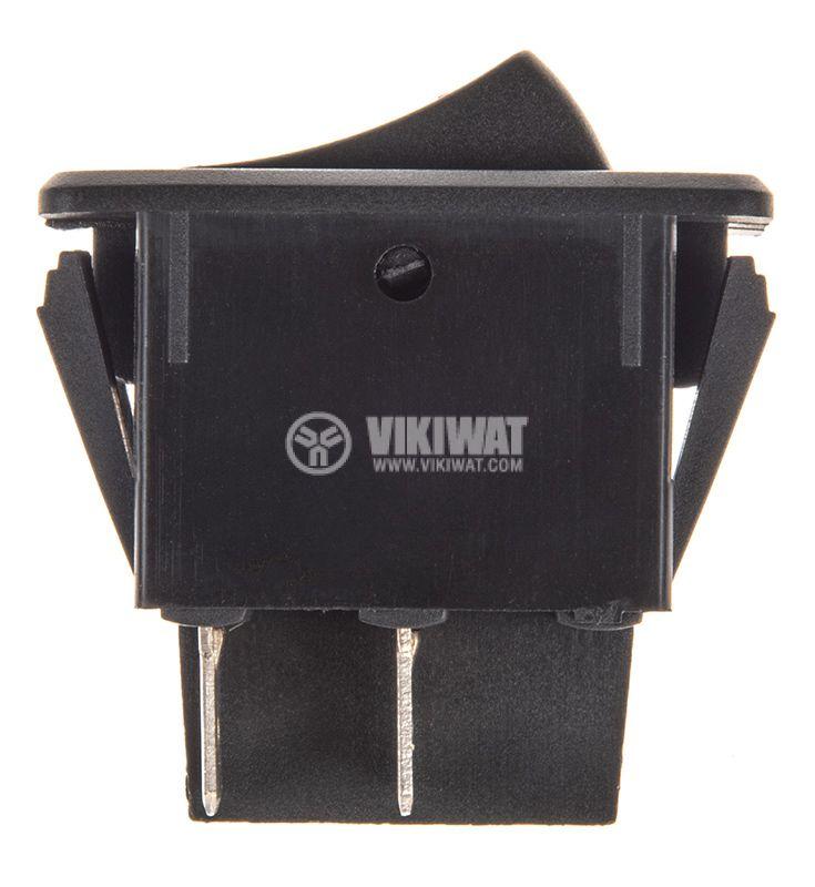 Rocker превключвател, 2 позиции, OFF-ON, 35A/12VDC, отвор 35x21mm - 2