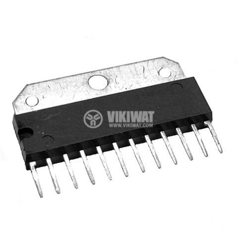 Интегрална схема TA7233, Dual audio power amplifier, SIP12