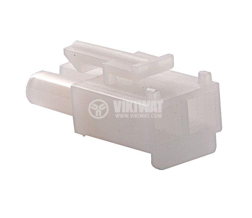 Конектор за обемен монтаж мъжки, VF67001-2R, 2 пина - 2