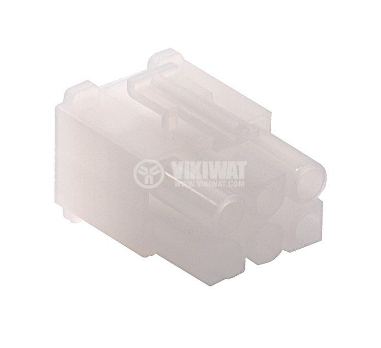 Конектор за обемен монтаж мъжки, VF67001-6R, 6 пина - 1