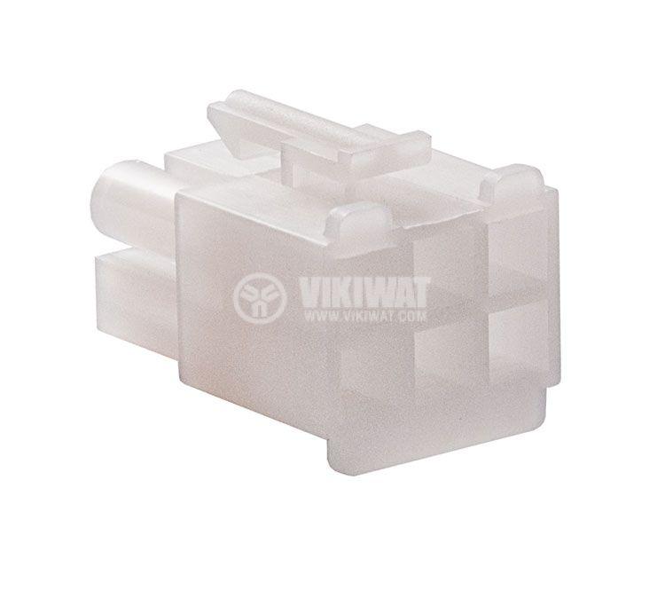 Конектор за обемен монтаж мъжки, VF67001-6R, 6 пина - 3
