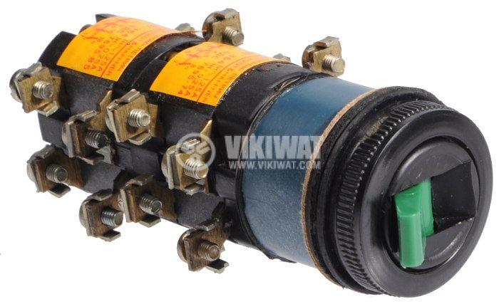 Switch key, BT364, 380V, 4NO + 4NC, green - 2