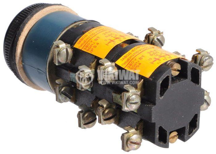 Switch key, BT364, 380V, 4NO + 4NC, green - 3