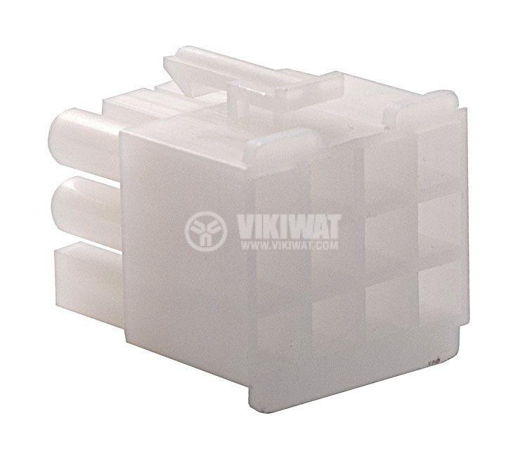 Конектор за обемен монтаж мъжки, VF67001-12R, 12 пина - 2