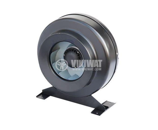 Centrifugal pipe fan VWR100, 220VAC, 64.1W, 220m3/h - 5