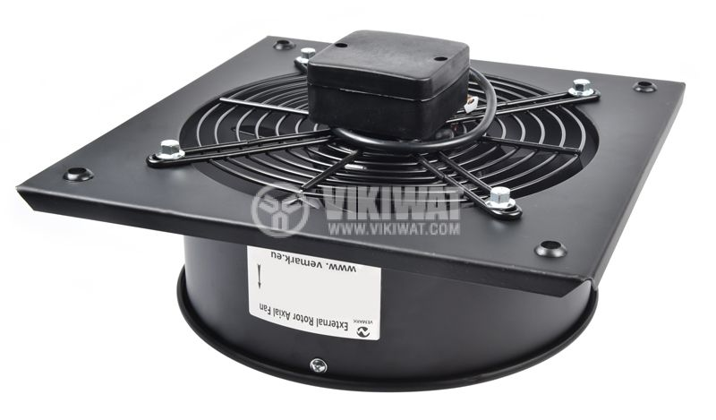 Fan, Industrial, Axial, FDA-4E-250B, F250mm, 220VAC, 50W, 1200m3 / h - 5