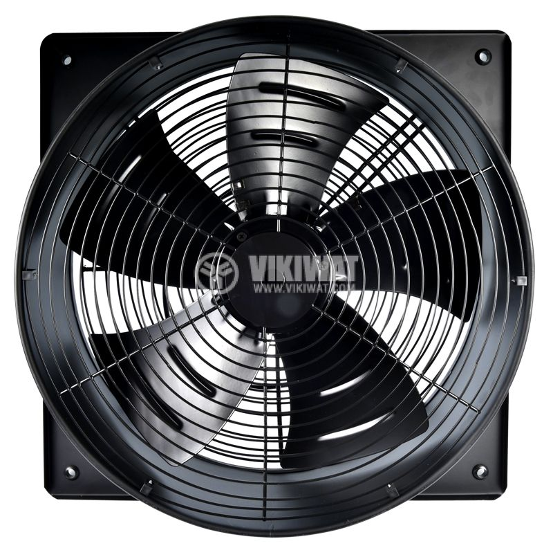 Fan, industrial, axial Ф400mm, 4800m3 / h, 180W, FDA-4E-400B, 220VAC - 4