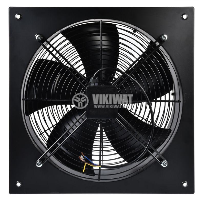 Fan, industrial, axial Ф500mm, 8850m3 / h, 420W, FDA-4E-500B, 220VAC - 1