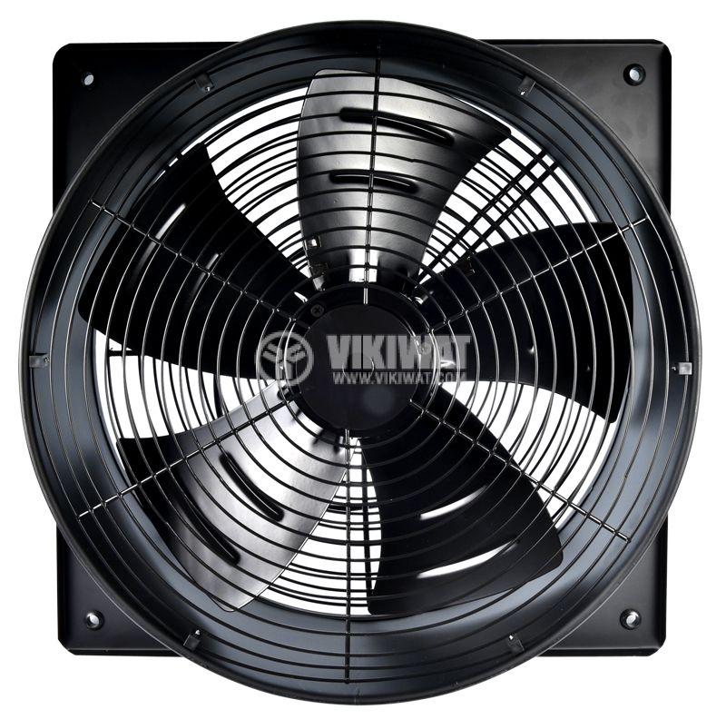 Fan, industrial, axial Ф500mm, 8850m3 / h, 420W, FDA-4E-500B, 220VAC - 4