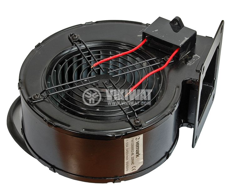 Centrifugal industrial  fan, V-150QD, 220VAC, 180W, 900m3/h - 4