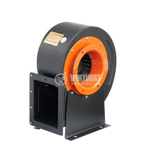 Вентилатор, промишлен, центробежен, V-200QD, 220VAC, 330W, 1500m3/h - 1