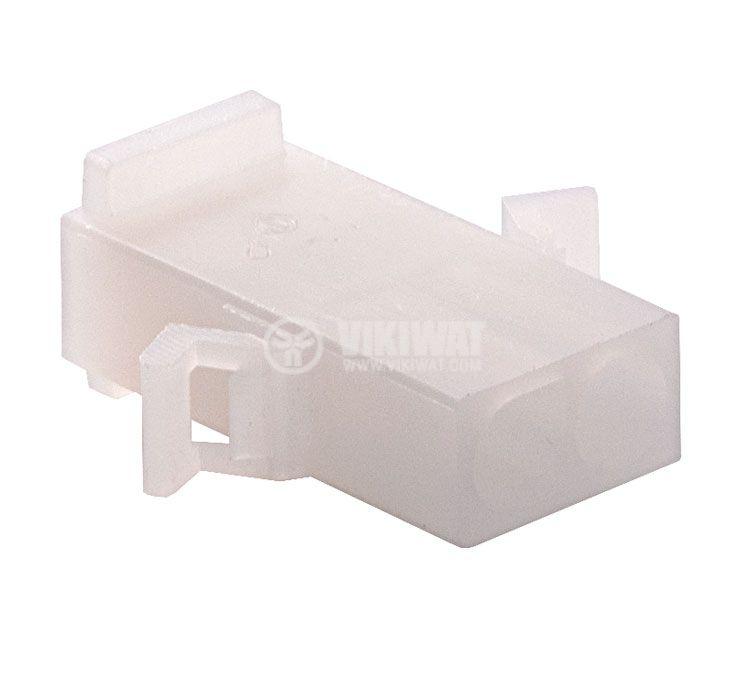 Конектор за обемен монтаж женски, VF67000-2R, 2 пина - 1