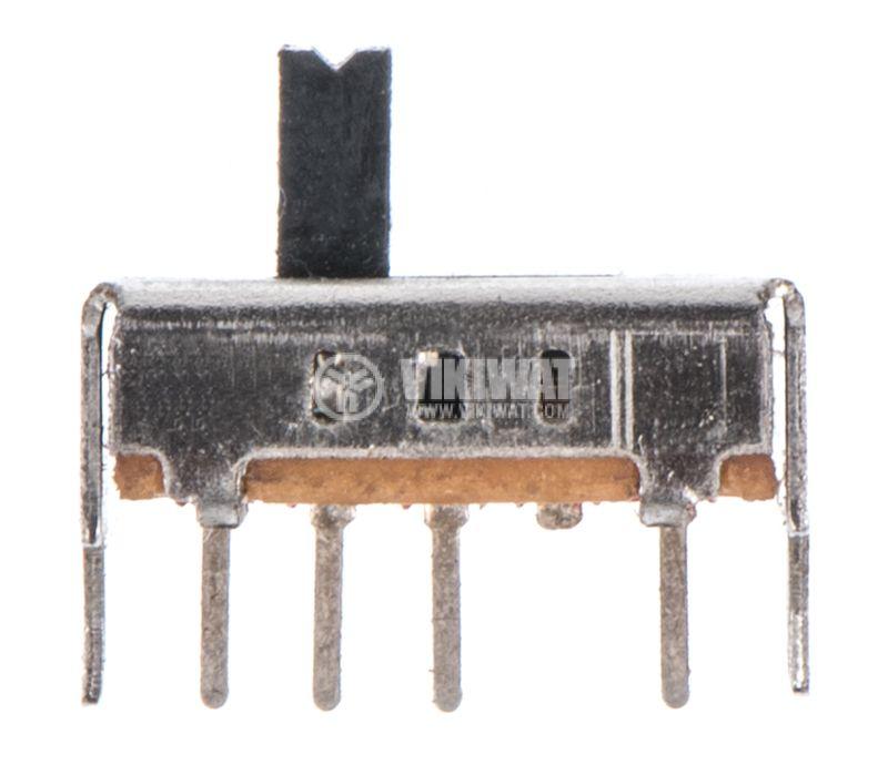 Превключвател 3 позиционен, 50VDC, 0.5A, SP3T - 1