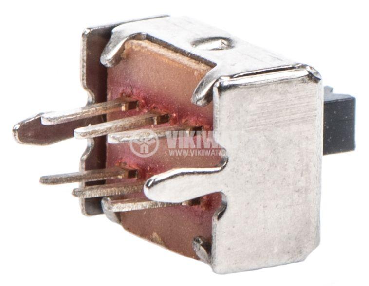 Превключвател 2 позиции, 50VDC, 0.5A, 2xSPDT - 2
