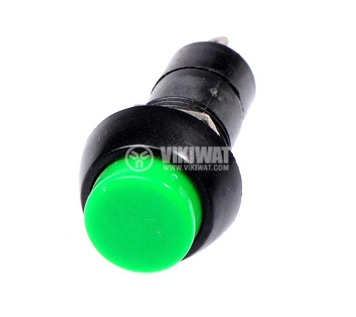Бутон, CY01H-G, NO, 2A / 230VAC, незадържащ, зелен - 2