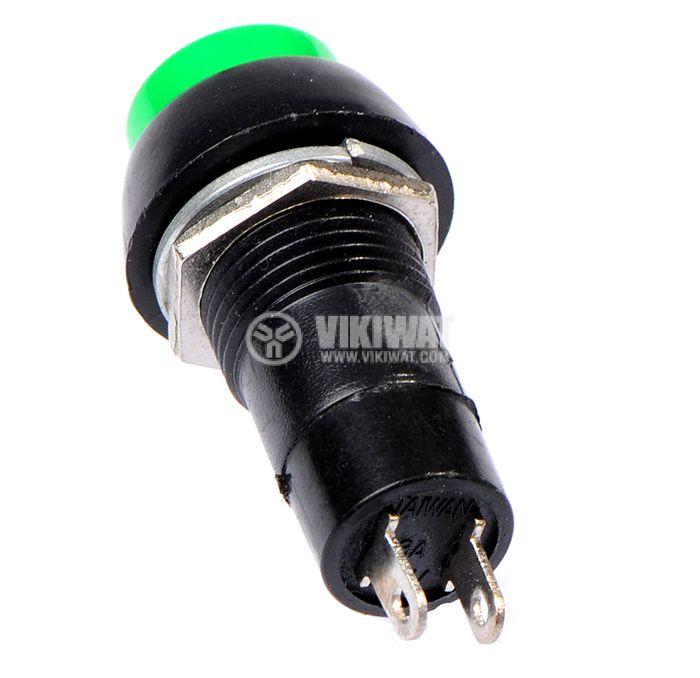 Бутон, CY01H-G, NO, 2A / 230VAC, незадържащ, зелен - 3