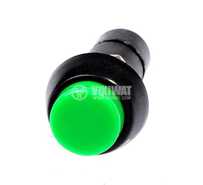 Бутон, CY01H-G, NO, 2A / 230VAC, задържащ, зелен - 2