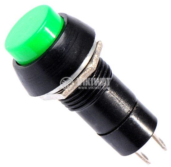 Бутон, CY01H-G, NO, 2A / 230VAC, задържащ, зелен - 1