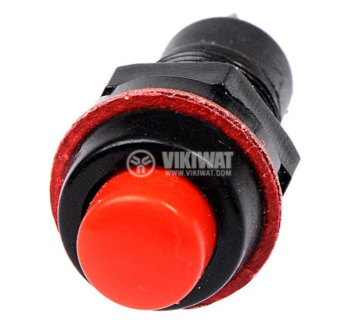Бутон, CY01K-R, NO, 2A / 230VAC, незадържащ, червен - 2