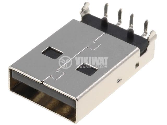 Конектор, USB A, M - 1