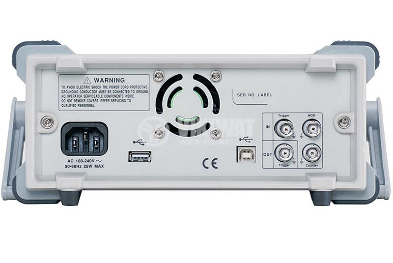 Function Generator AFG-2225, 2 channel, 1 μHz to 25 MHz (sine/square wave) - 3
