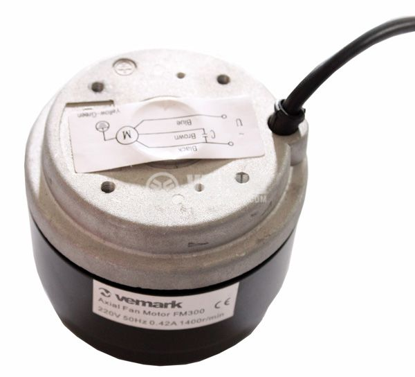 Single-phase asynchronous motor FM300, 220 VAC, 1400 rpm