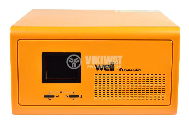 Emergency power supply UPS, 12VDC-220VAC, 1000W, real sine wave - 1