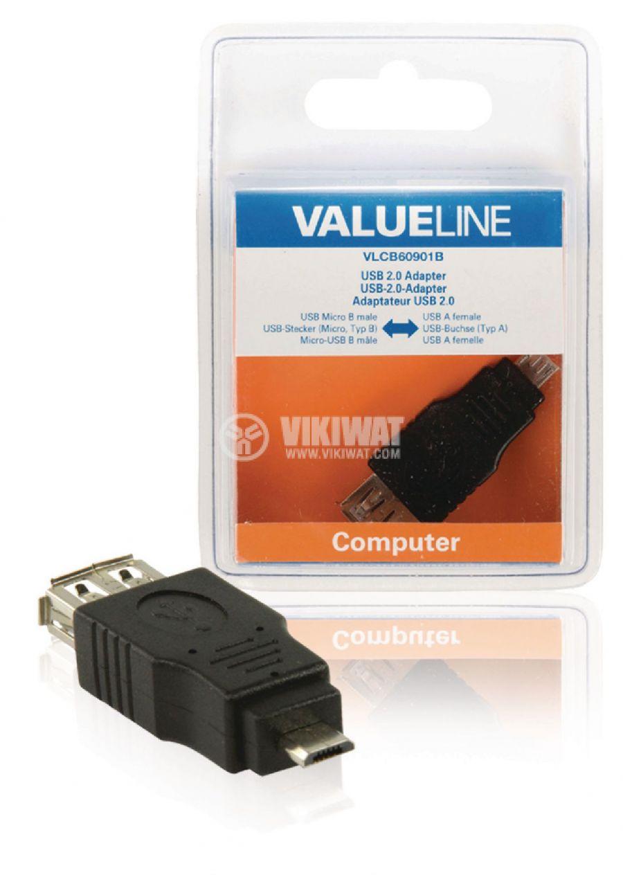Конектор USB-A F micro USB - 3