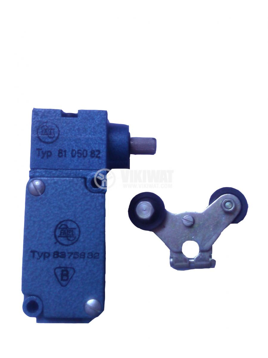 Limit switch, Fael 8375832, 380VAC, 16A, arm with two rolls - 1