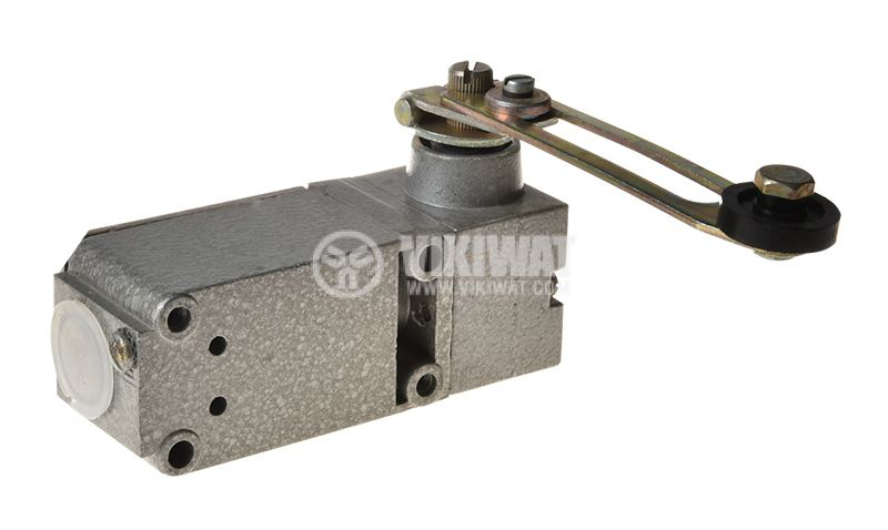 Limit switch, Fael 8375802, 380VAC, 16A, 2xNO+2xNC, roller lever - 2
