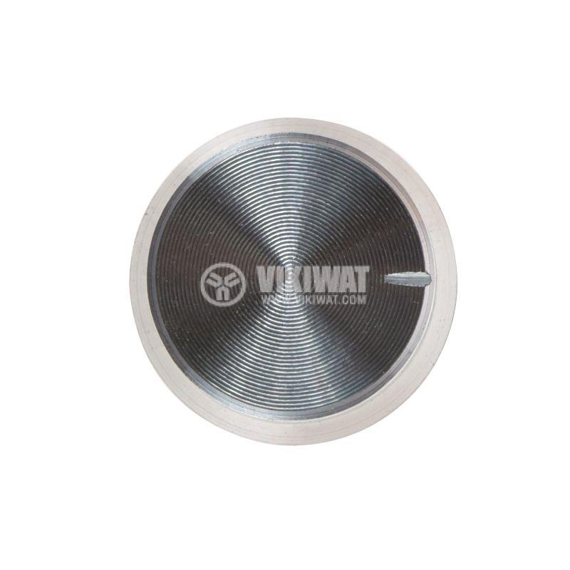Копче за потенциометър Ф17х15 mm с индикатор, алуминий - 2