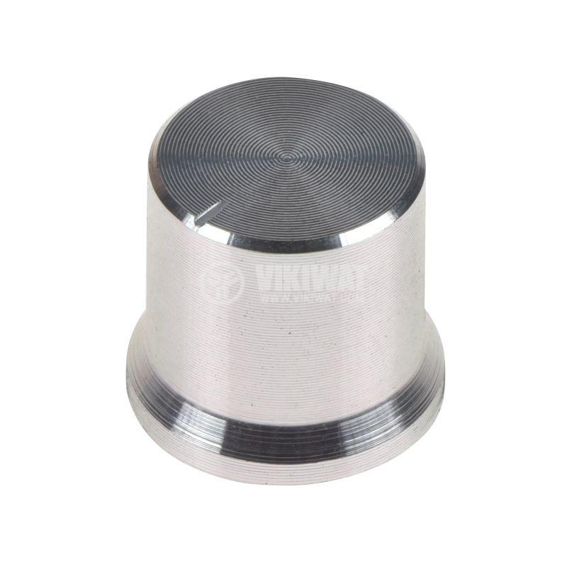 Копче за потенциометър Ф17х15mm с индикатор, алуминий - 1