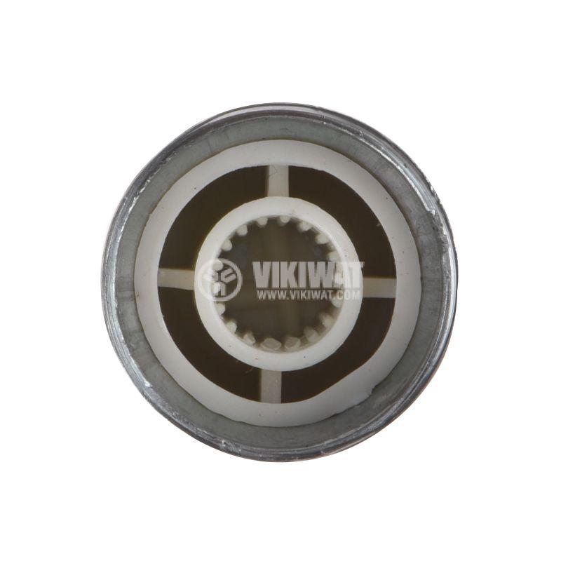 Копче за потенциометър Ф17х15mm с индикатор, алуминий - 3