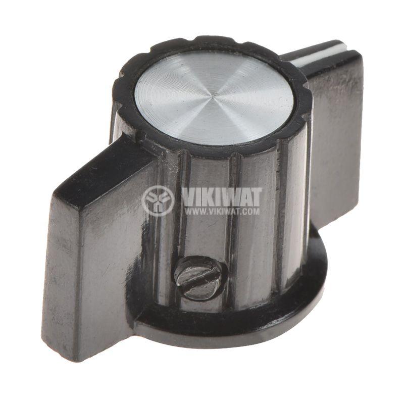 Копче за потенциометър ф32mm, h=18mm с индикатор KCJ32-18 - 1