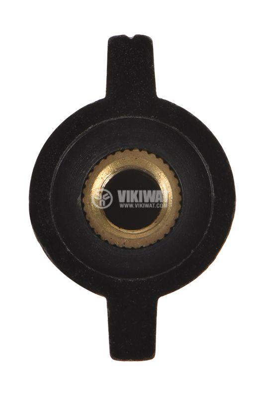 Копче за потенциометър ф32mm, h=18mm с индикатор KCJ32-18 - 3
