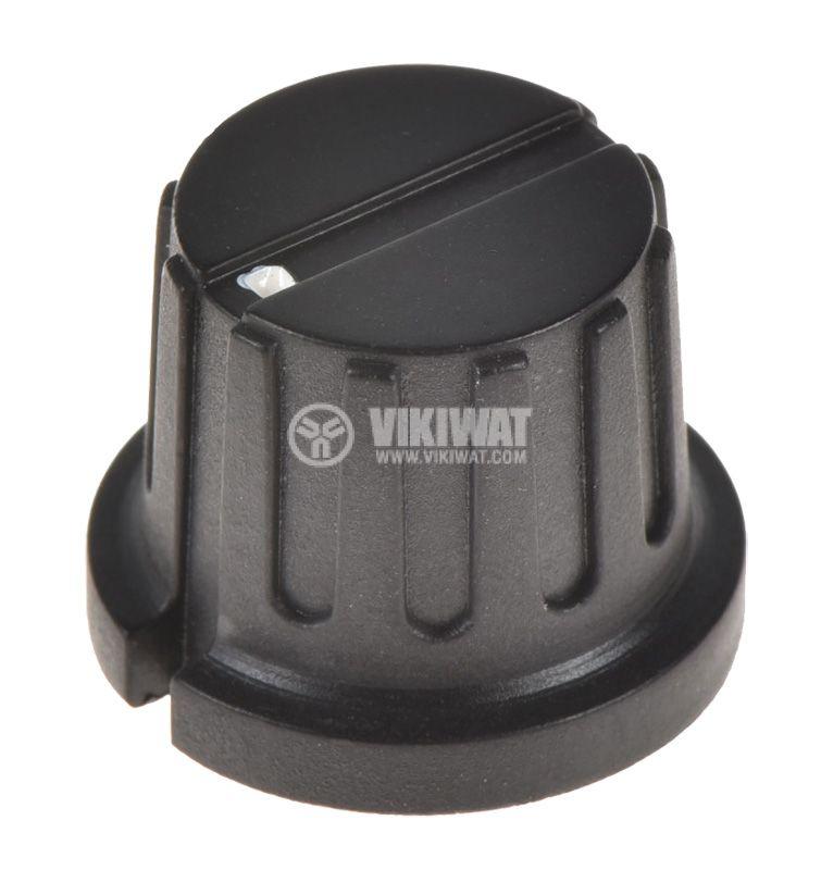 Копче за потенциометър Ф20.3х15.6 mm, с индикатор, KN-8E - 1