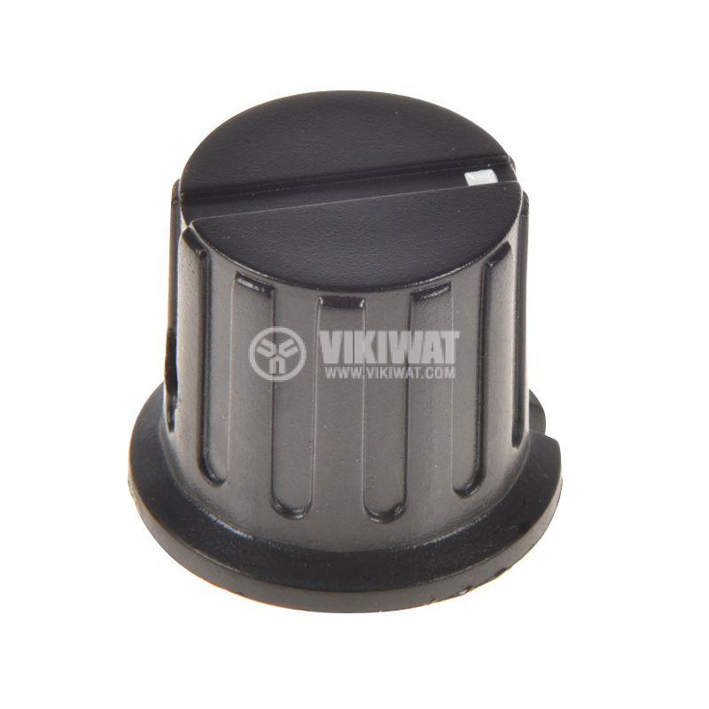 Копче за потенциометър Ф24х20 mm с индикатор KN-8D - 1