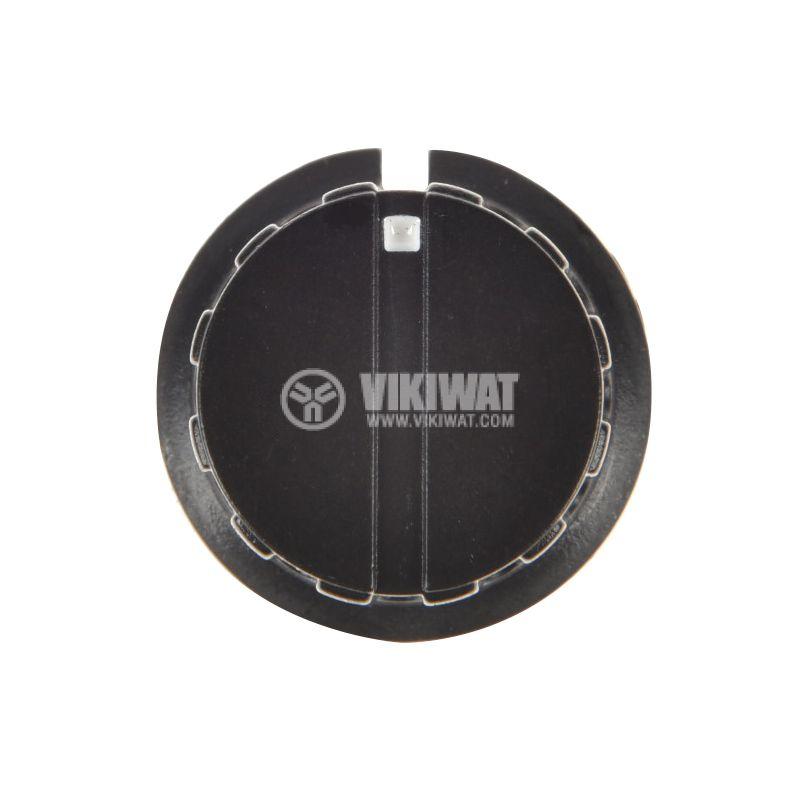 Копче за потенциометър Ф24х20 mm с индикатор KN-8D - 2
