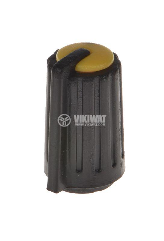Копче за потенциометър KA481-02, ф10х17mm, с индикатор - 1