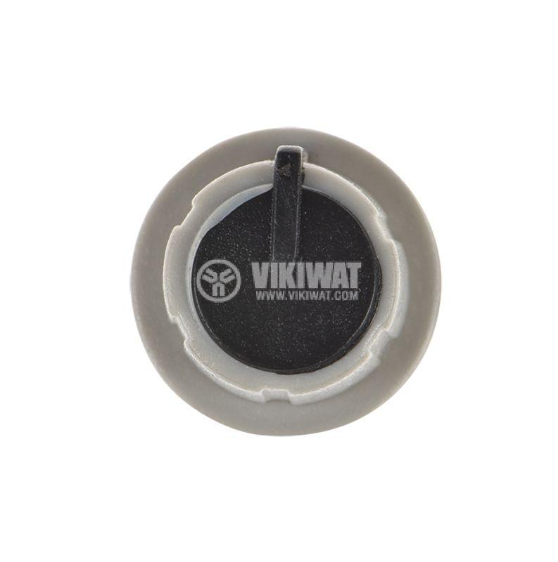 Копче за потенциометър ф17.5х15mm, с фланец и индикаторна линия - 2