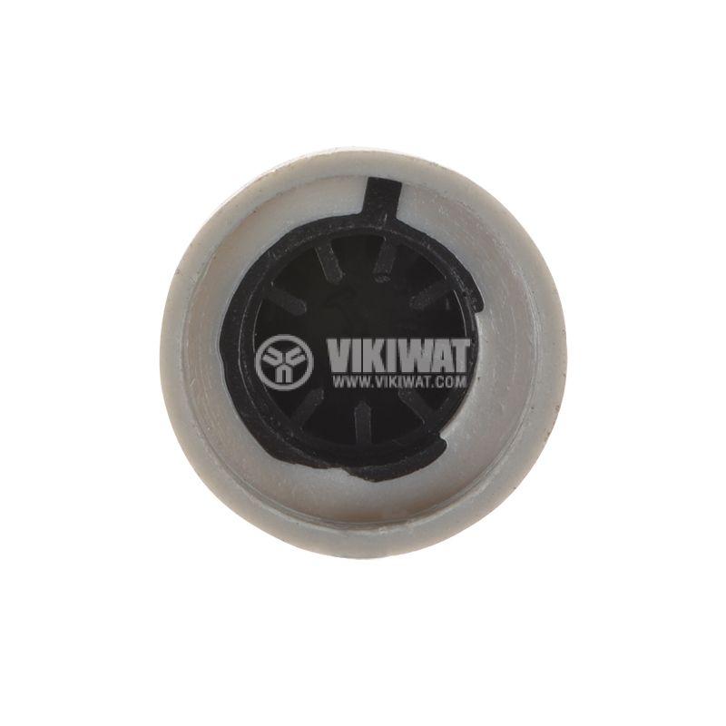 Копче за потенциометър ф17.5х15mm, с фланец и индикаторна линия - 3
