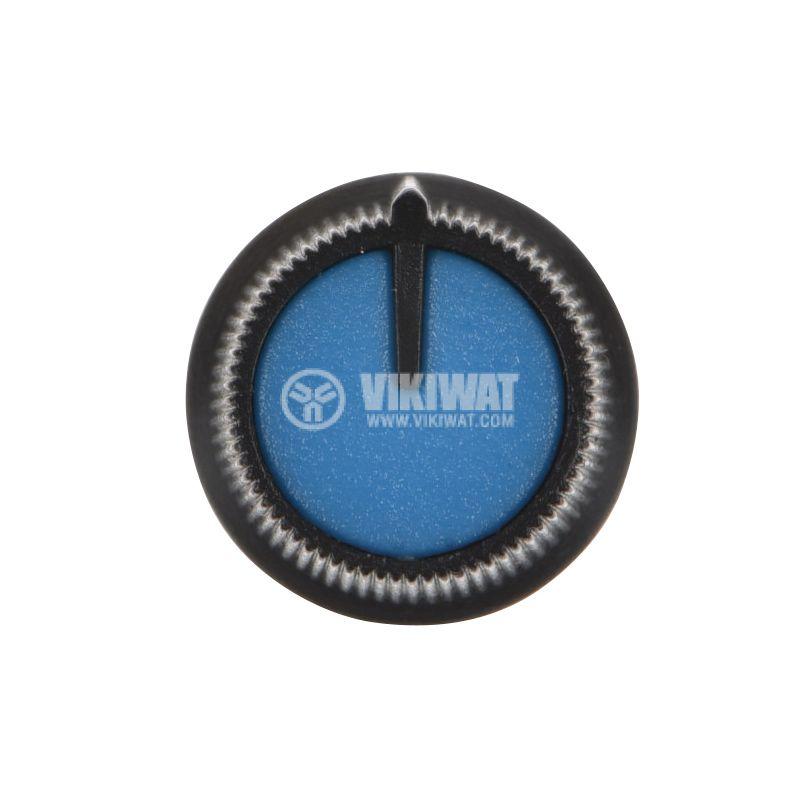 Копче за потенциометър ф15х15mm, с фланец и индикаторна линия - 2
