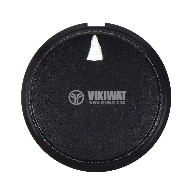 Копче за потенциометър с размери Ф19x19 mm - 3