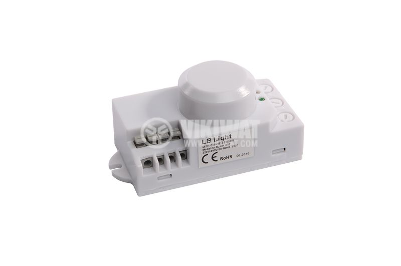 Microwave motion sensor  BL404 360, 220 - 240 VAC, 1200 W, (8 sec - 12 min) - 2