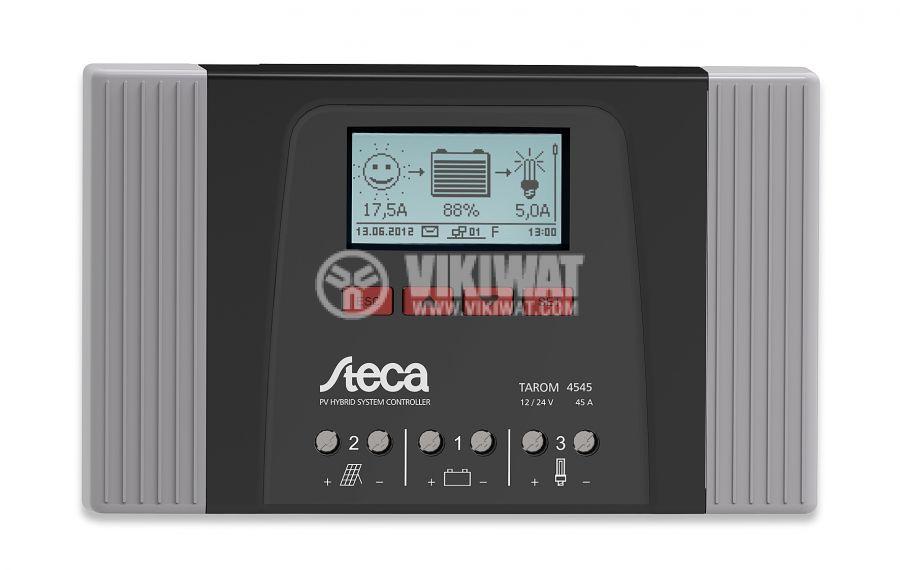 Контролер за соларни системи, Tarom 4545, 45A, 12V / 24V - 1