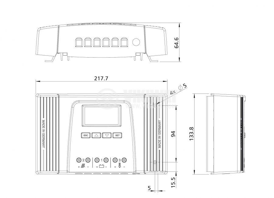 Контролер за слънчев панел - 2