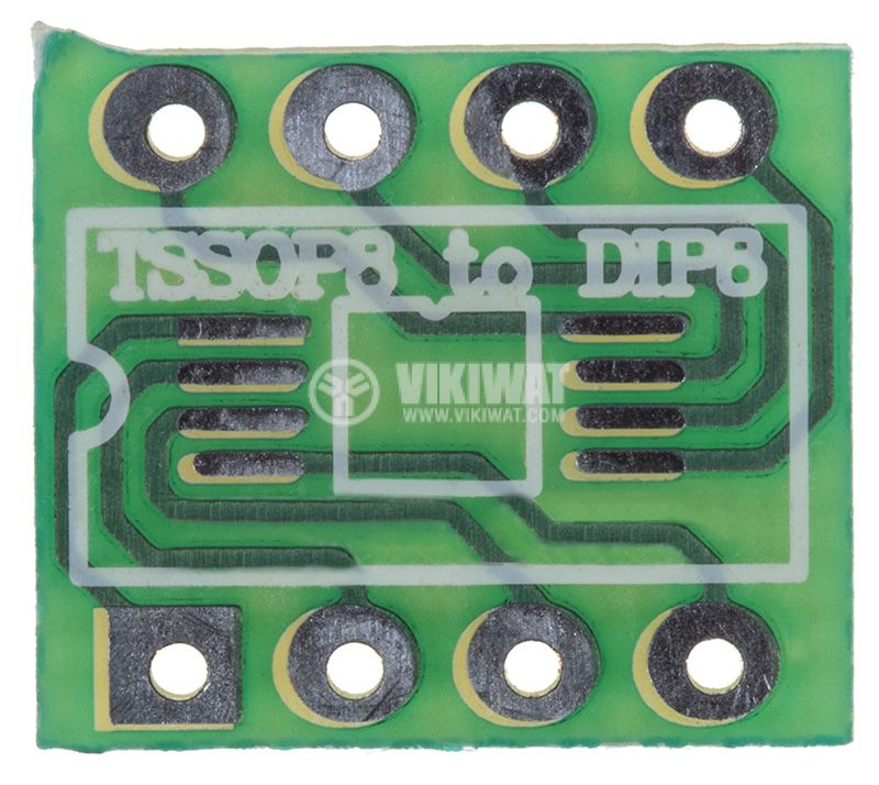 Circuit board SMD TSSOP8 to DIP8  - 1