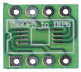 Circuit board SMD TSSOP8 to DIP8