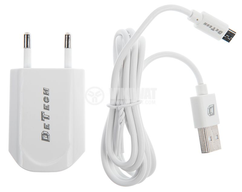 Charger for iOS, Android, 5VDC, 1A - 1